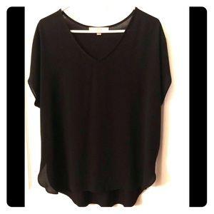 Loft shirt sleeve blouse